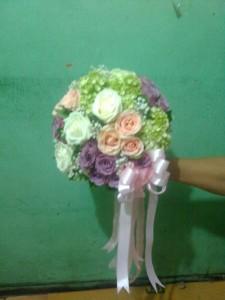 bunga jakarta, hand bouquet